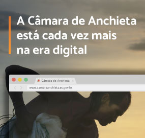 Anchieta está cada vez mais digital